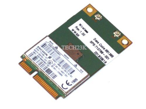 OEM HP EliteBook 217p 8570p HS2350 HPSA Mobile Broadband Card WWAN 710788-001