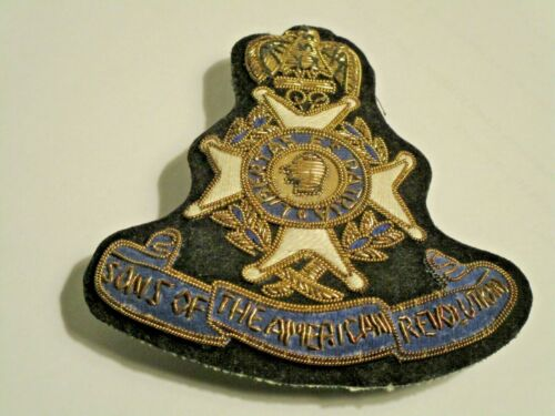 Sons of the American Revolution Insignia (Embroidered)