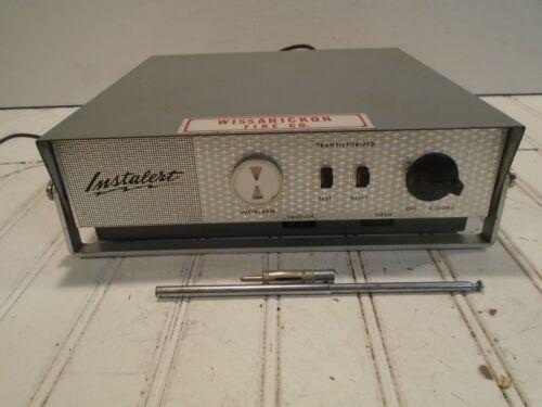 Instalert ST-2 - Vintage FM Receiver Firefighter Alerting/Alarm System