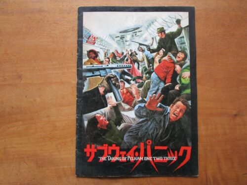 "Film ""The Taking of Pelham One Two Three"" Joseph Sargent Movie Program Japan F/S"