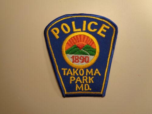 Vintage Takoma Park Maryland Police Shoulder Patch Embroidered