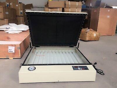 Commercial Silk Screen Precise Printing Uv Vacuum Exposure Unit 110v 2428in