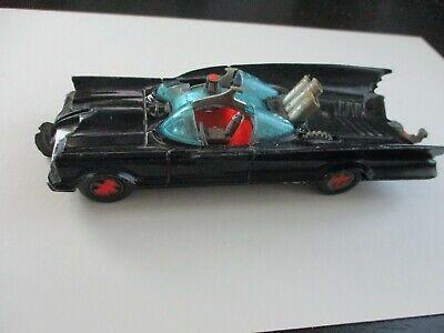 CORGI BATMOBILE # 267, DIE-CAST, 1966, GT. BRITAIN, BATMAN FIGURE ON BOTTOM