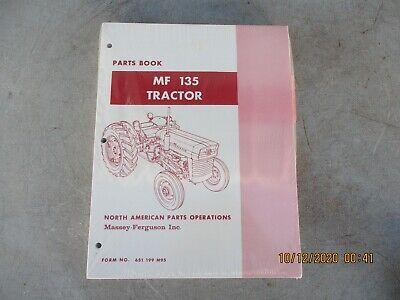 Massey-ferguson Mf 135 Tractor Parts Catalog Manual New Factory Sealed