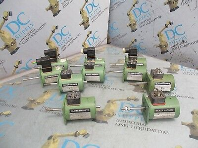 Isliker Magnete Ugnz-50.10-100s-90 I Various Linear Solenoid Coil Lot Of 10