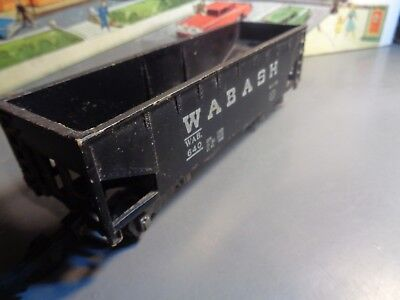 AMERICAN FLYER 1952 VINTAGE WABASH 2 BAY OPEN HOPPER CAR NO W.A.B 640   5-52-5 for sale  Coventry