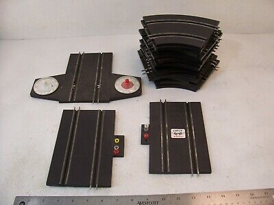 VINTAGE SPEEDKING ROAD RACING SLOT CAR TRACK MISC PIECES 4 1/2 IN for sale  Shipping to India