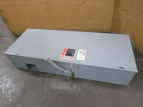 CUTLER-HAMMER DH365FGB FUSIBLE 400 A AMP 600V SAFETY SWITCH DISCONNECT TYPE 1