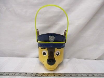 PTI group paw patrol Halloween bucket dog wolf brown blue yellow container toy (Paw Patrol Halloween Bucket)