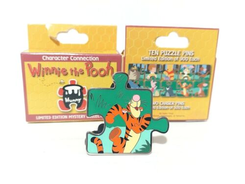 Tigger CHASER CHASE Winnie the Pooh Disney Parks Blind Box Mystery Puzzle Pin LE
