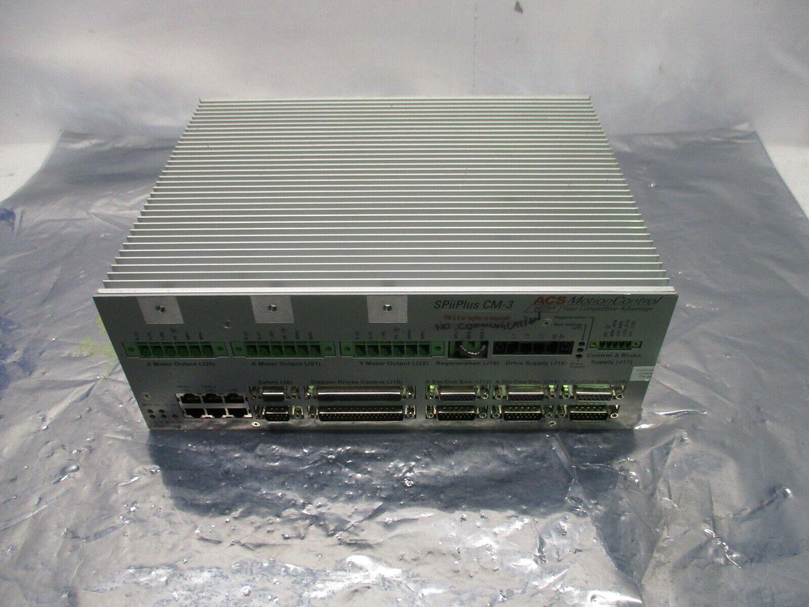 ACS Motion Control CM-3-B-E-M0 SPiiPlus Digital Drive Controller, CM-3, 100850