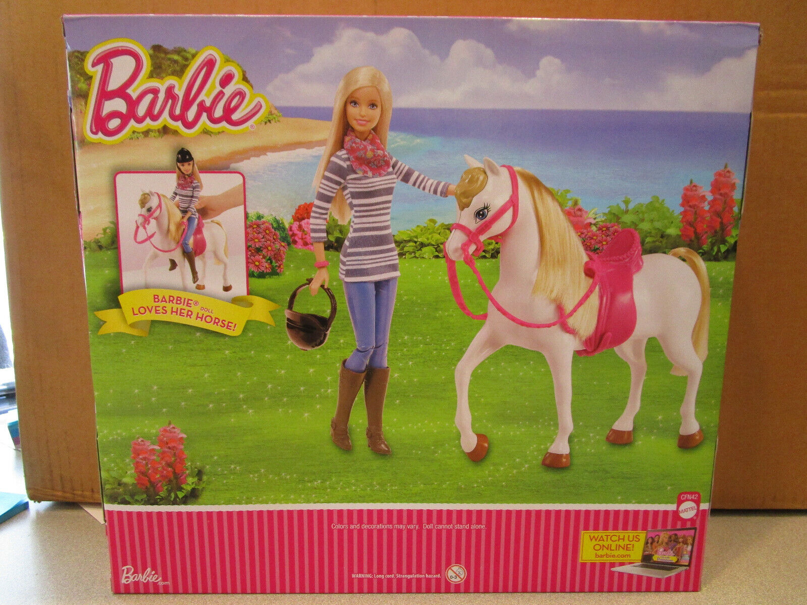 Barbie Doll Loves Her Horse, CFN42, 2014, NRFB - $49.99