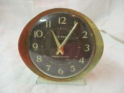 Vintage Westclox Big Ben brass & metal Windup Alarm Clock Model 2 53647 runs