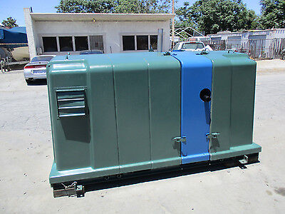 Thermo Elect 60 Kw Hot Water Generation Module Portable Natural Gas Generator
