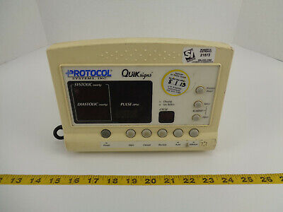 Protocol Systems Inc Welch Allyn Quiksigns 52000 Series Vital Signs Monitor