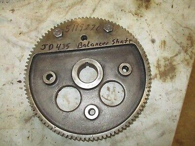 John Deere 435 440 Gm Detroit 253 Engine Balancer Shaft Gear 5119220 Tractor
