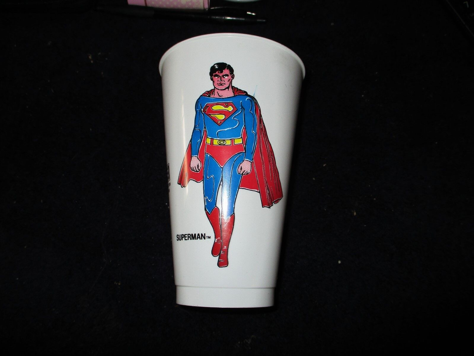 1978 SUPERMAN THE MOVIE PEPSI COLLECTOR S SERIES CUP CHRISTOPHER REEVE RARE  - $9.99