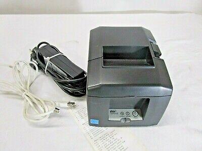 Star Micronics TSP650ii USB Thermal Printer Auto Cutter w/ Power Supply