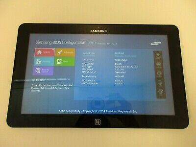 Samsung 700T Notebook i5-3337U 1.80GHz 4GB RAM No HD Tablet Only READ ALL