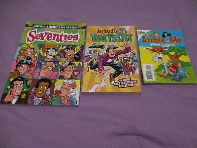 Lot Archie comics Best of Seventies Book 2 Americana Series Jughead Time Police