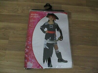 girls pirate princess custume age 5-7 years