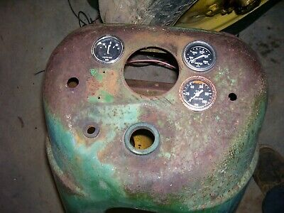 Vintage Oliver 55 Gas Tractor -dash Assembly - Rat Rod Piece