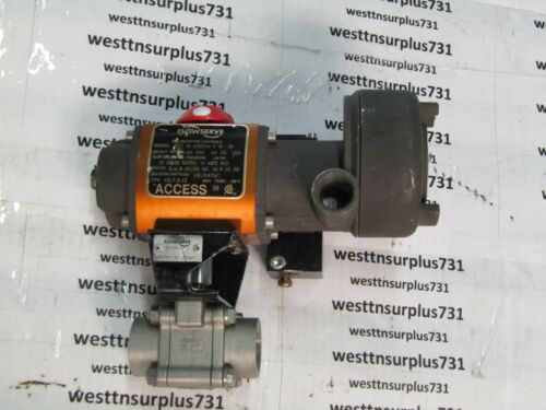 """1""""  Worcester Controls/Flowserve E4466PMSE Valve Stainless """"Used"""""""