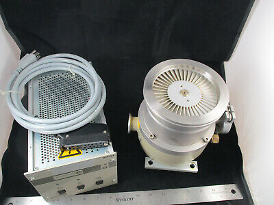 Pfeiffer Tph 170 Turbo Molecular Pump Tcp 121 Controller Cable Conflat Ring