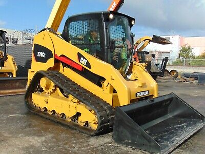2012 Cat 279c - 2 Speed Turbo - Cold Ac - Self Leveling - Power Quick Attach
