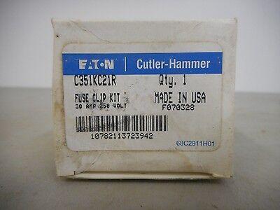 Cutler Hammer C351kc21r Fuse Clip Kit 30 Amp 250 Volt