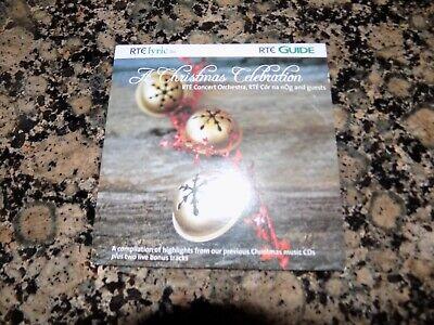 CD  RTE A CHRISTMAS CELEBRATION RTE CONCERT ORCHESTRA  ( PROMO DISC) 16 TRACKS  ()