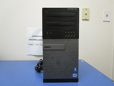 Dell OptiPlex 790 MT intel Quad Core i5 2400 3.10 GHz 8GB DDR3 Ram DVDRW NO HDD