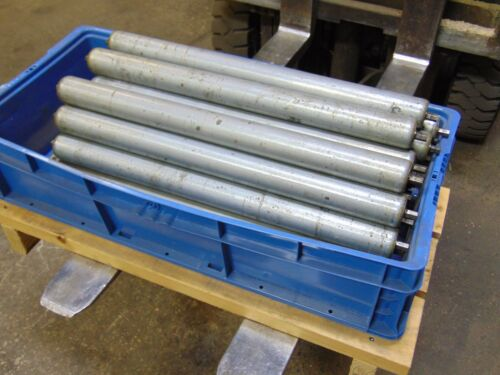 Lot of 34 Replacement Gravity Roller Conveyors Rollers 23""