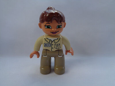 Mega Bloks Zoo Keeper Girl Tan Outfit Replacement - Zoo Keeper Outfit