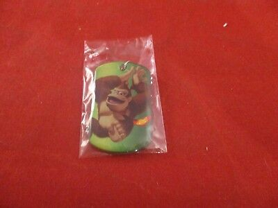 Donkey Kong #15 Dogtag Official Super Mario Nintendo Dog Tag Necklace Chain NEW!