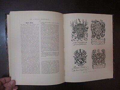 EX LIBRIS JOURNAL, AN OLD MAGAZINE, ISSUES 9 & 10, USA, 1903.  cs5503