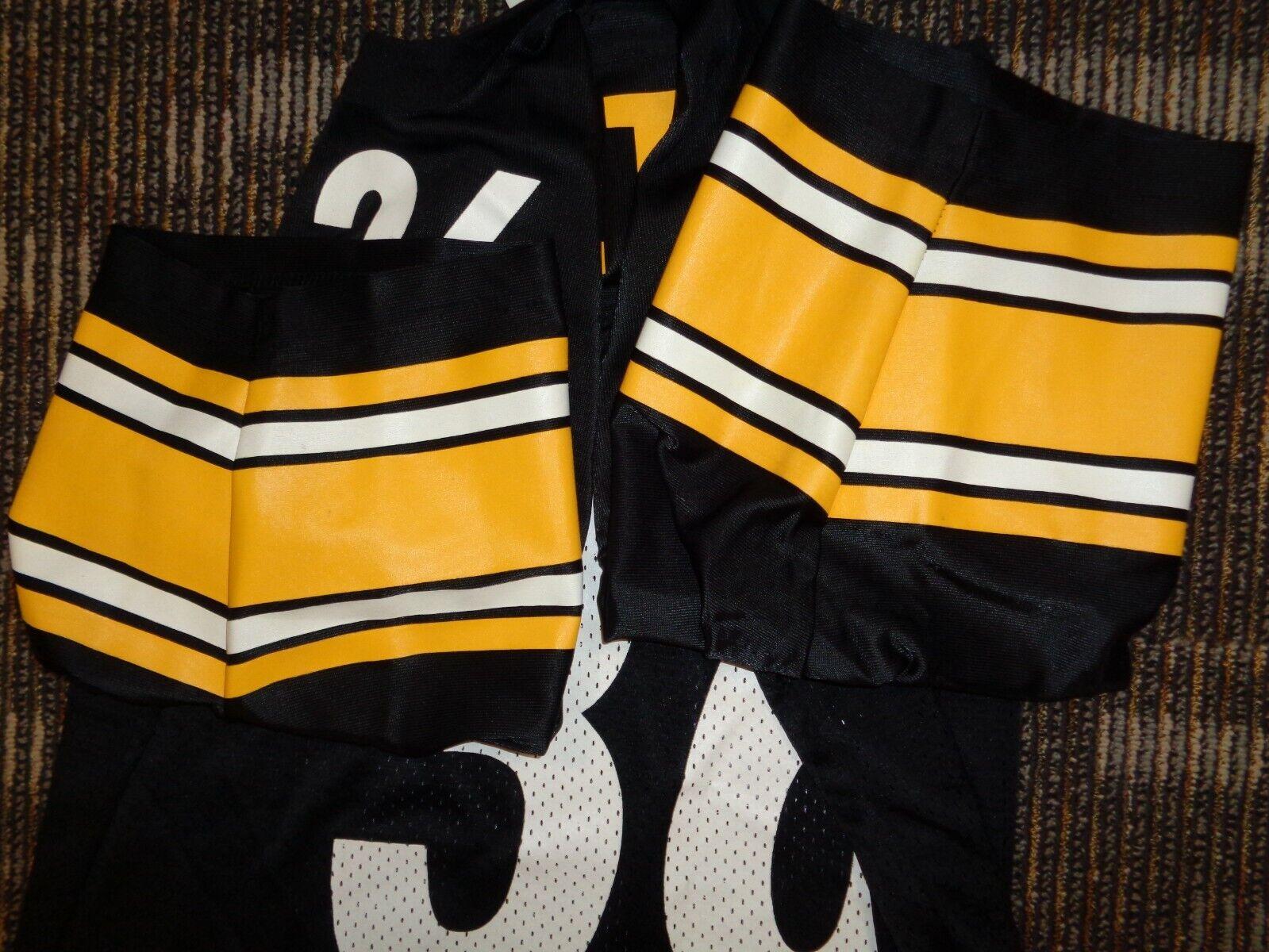 LOT-JEROME BETTIS LEVON KIRKLAND PITTSBURGH STEELERS STARTER NFL GAME JERSEYS - $59.99