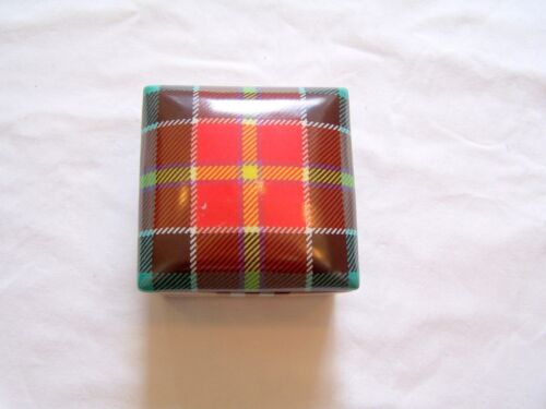 Fabienne Jouvin of Paris red plaid box