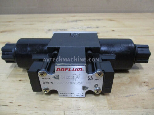 Dofluid Hydraulic Solenoid Valve DFB-02-2D2-A110