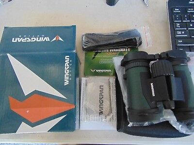 Wingspan Optics NatureSport 8x32 Waterproof Compact Binoculars Bird Watching