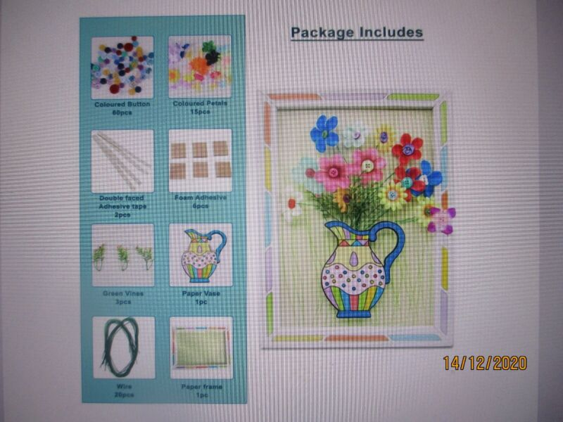 3D+flower+craft+great+for+older+children+and+adults