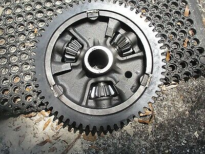 1963 Case 930 Diesel Farm Tractor Differential Ring Gear Assembly A9451