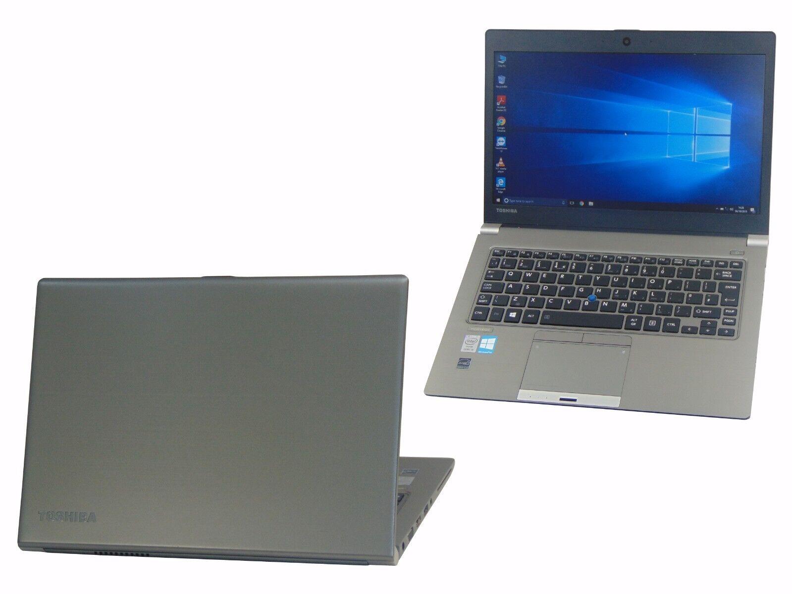 Laptop Windows - Toshiba Laptop Windows 10 Portege Z30 Core i5-4200U 4GB 128GB SSD Webcam HDMI