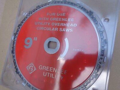 GREENLEE OVERHEAD UTILITY CIRCULAR HYDRAULIC CHAIN SAW BLADE 9