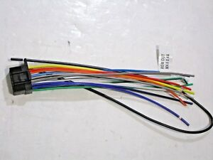 sony wiring harness ebay Sony MEX BT5 000 Manual sony mex n5000bt wire harness new cl1
