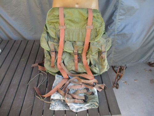 1969 Vietnam War Tropical Rucksack, X Frame Ruck, Excellent, Field Pack