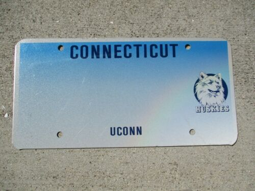 Connecticut UCONN Huskies Blank license plate