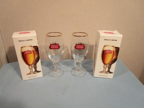 Stella Artois Chalice 33 CL Set Of 2 Glasses