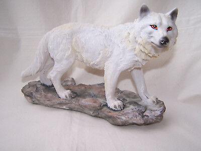 Wolf stehend auf Felsen