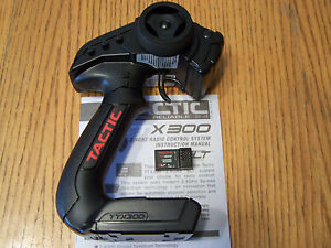 Axial Tactic TTX300 3 Channel 2.4ghz Radio Transmitter &TR325 3ch Receiver TX RX
